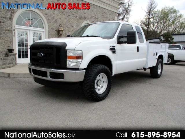 2009 Ford F-250 SD XL SuperCab 4WD Utility