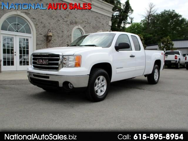 2012 GMC Sierra 1500 SLE Ext. Cab 4WD Short Bed Z-71