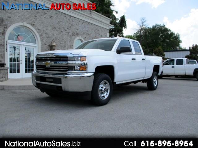 2015 Chevrolet Silverado 2500HD LS Double Cab Short Bed 4WD