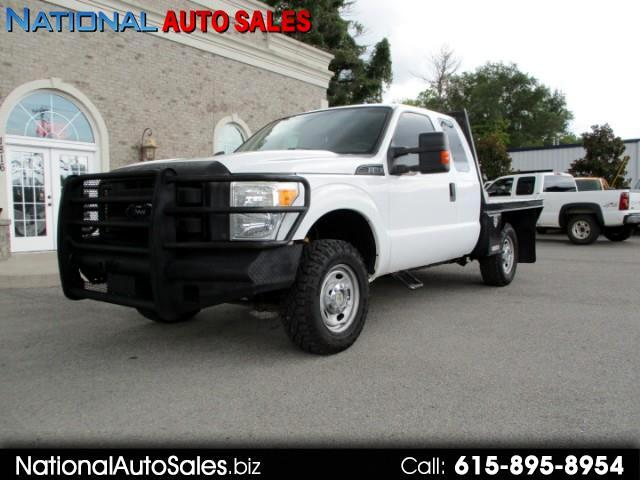 2011 Ford F-250 SD XL SuperCab 4WD  FlatBed