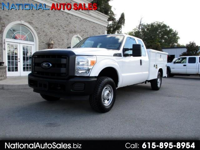2012 Ford F-250 SD XL SuperCab 4WD Utility Bed