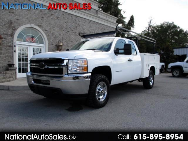 2011 Chevrolet Silverado 2500HD Work Truck Ext. Cab 4WD Utility Bed