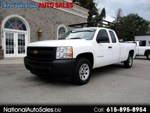 2013 Chevrolet Silverado 1500 Work Truck Ext. Cab Long Box 2WD