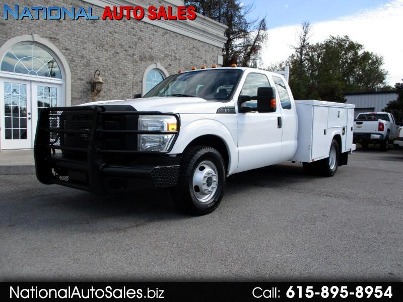 2011 Ford F-350 SD XL SuperCab Long Bed DRW 2WD Utility