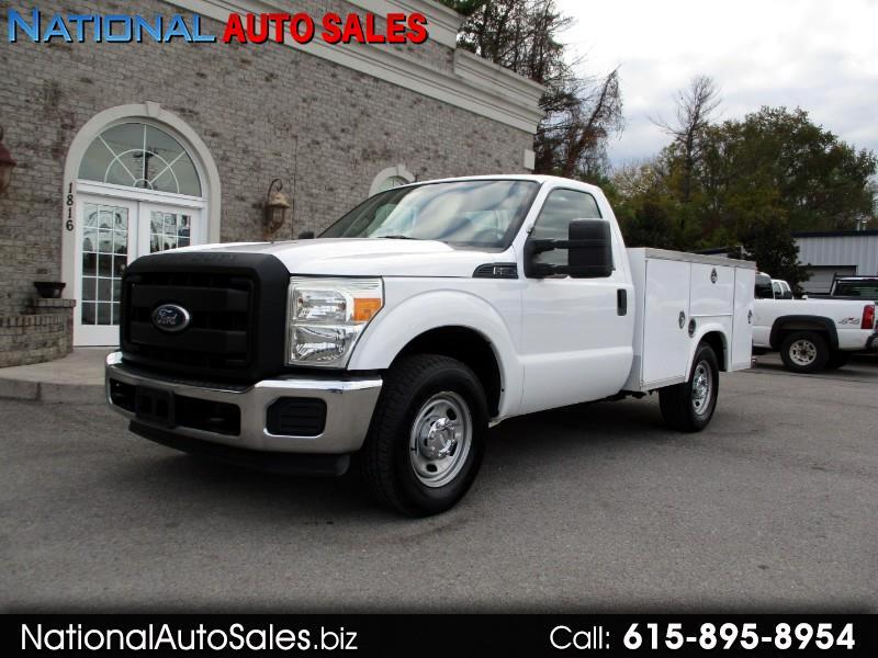 2011 Ford Super Duty F-250 SRW XL 2WD Reg Cab 8' Utility Bed