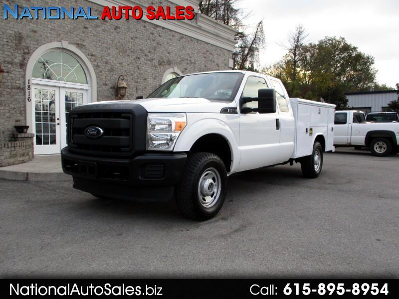 2012 Ford F-250 SD XL Super Cab Long Bed 4WD Utility