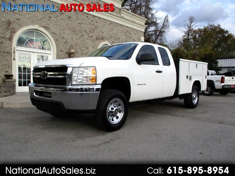 2011 Chevrolet Silverado 3500HD Work Truck Ext. Cab Long Box 4WD  Utility Bed