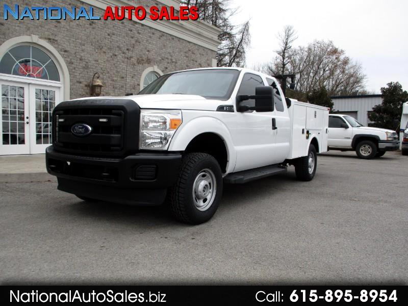 2014 Ford F-250 SD XL SuperCab Long Bed 4WD Utility