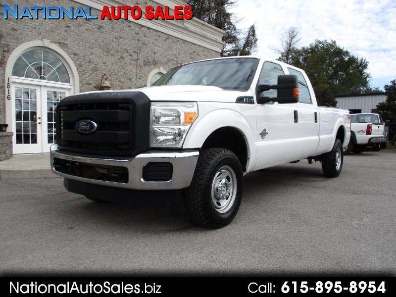 2013 Ford F-350 SD XL Crew Cab Long Bed 4WD