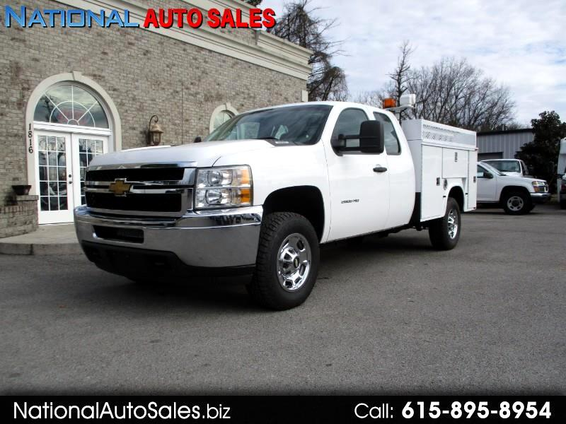 2012 Chevrolet Silverado 2500HD Work Truck Ext. Cab 4WD Utility