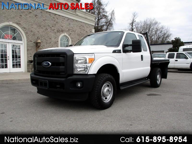 2011 Ford F-250 SD XL SuperCab 4WD Flat Bed