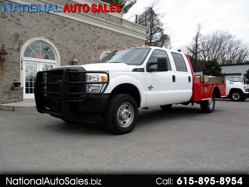 2011 Ford F-350 SD XL Crew Cab 4WD Long Steel Flat Bed