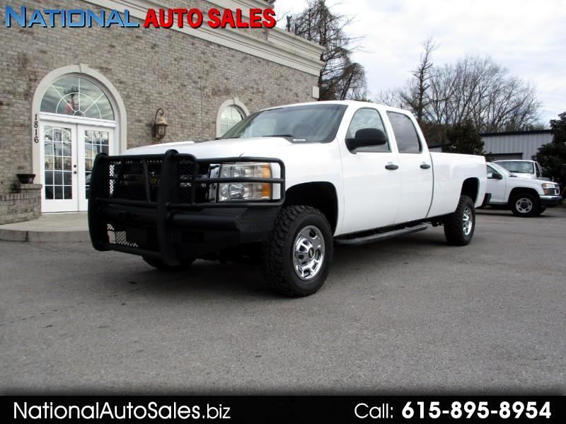 2012 Chevrolet Silverado 2500HD Work Truck Crew Cab Long Box 4WD