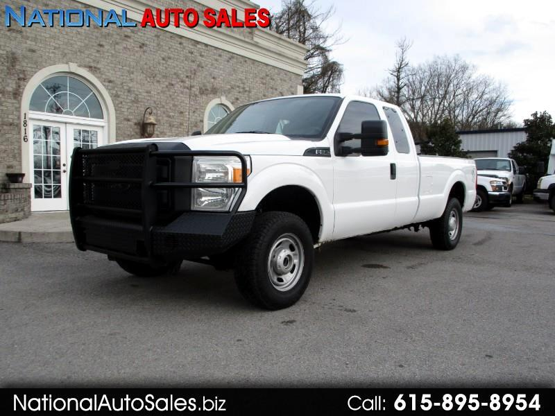 2013 Ford F-250 SD XL SuperCab Long Bed 4WD