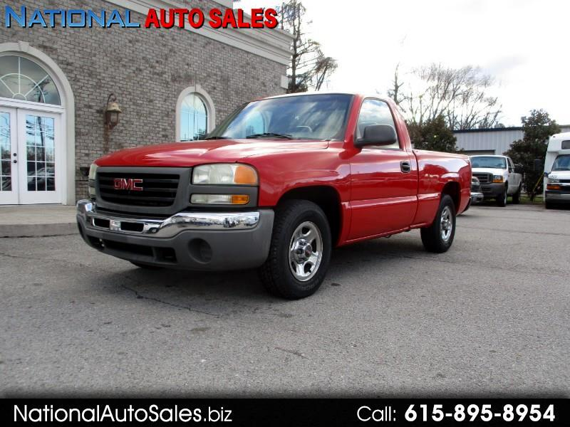 2003 GMC Sierra 1500 Short Bed 2WD