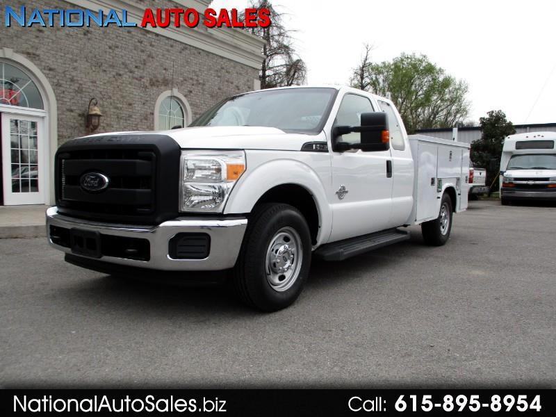 2012 Ford F-250 SD XL SuperCab 2WD Utility Bed