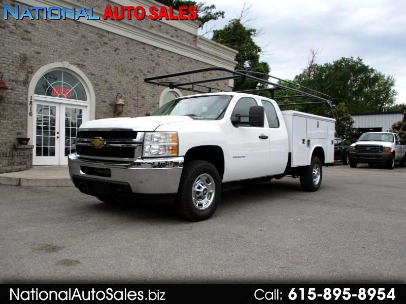 2011 Chevrolet Silverado 2500HD Work Truck Ext.Cab 4WD Utility