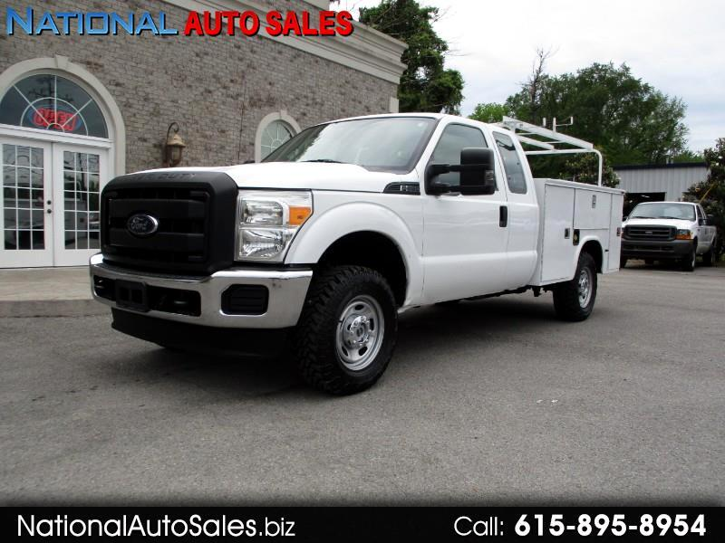 2012 Ford F-250 SD XL SuperCab 4WD Utility