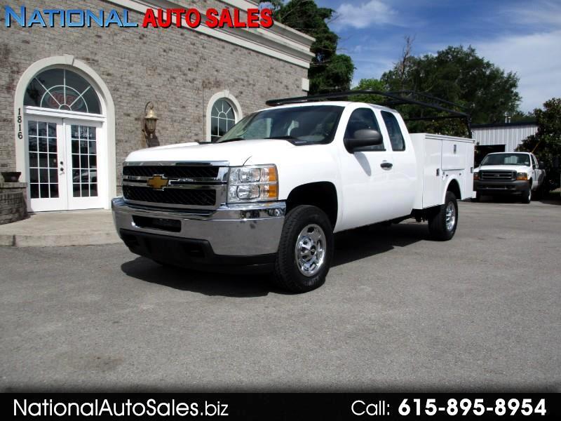 2013 Chevrolet Silverado 2500HD Work Truck Ext. Cab 4WD Utility