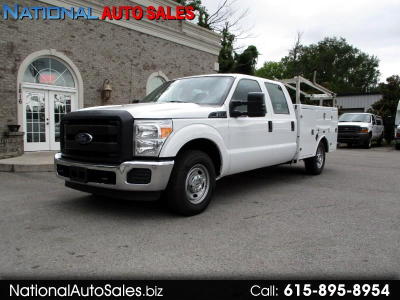 2016 Ford F-250 SD XL Crew Cab Long Bed 2WD Utility