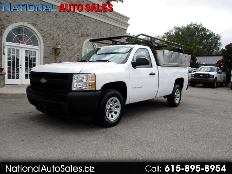 2012 Chevrolet Silverado 1500 Work Truck Long Box 2WD