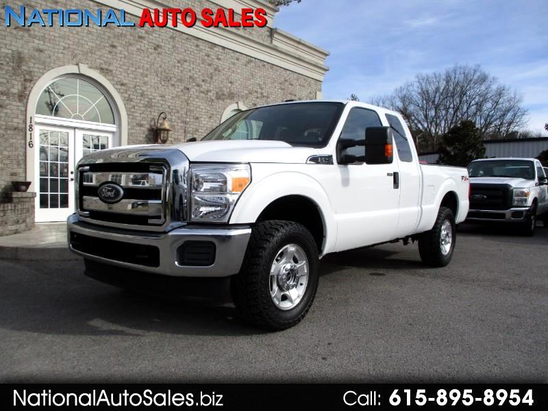 Ford F-250 SD XLT SuperCab 4WD 2011