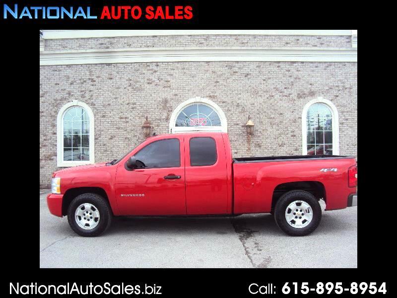 Chevrolet Silverado 1500 Work Truck Ext. Cab 4WD 2012