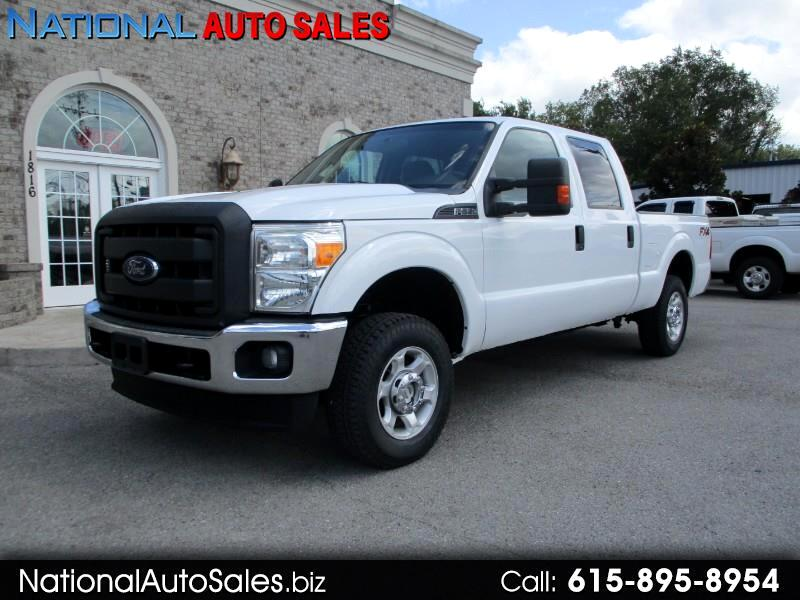 Ford F-250 SD XL Crew Cab 4WD 2013