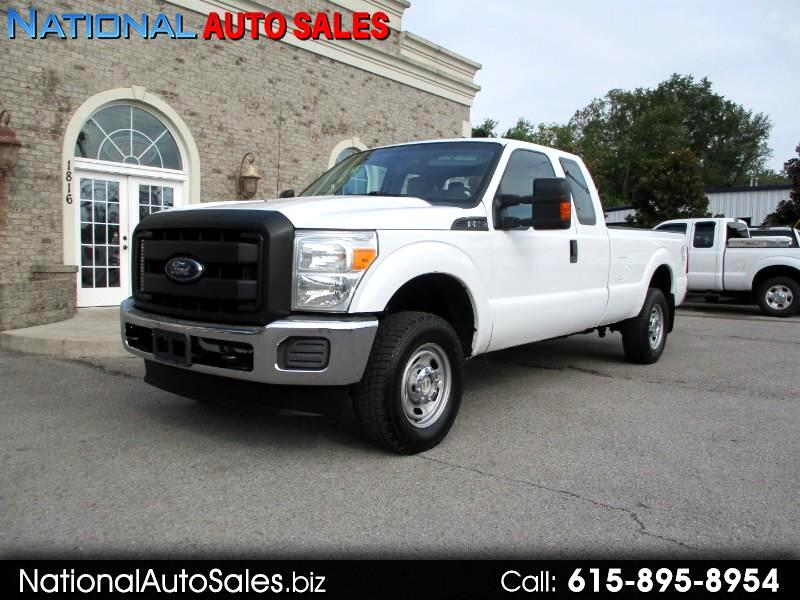 Ford F-250 SD XL SuperCab Long Bed 4WD 2013
