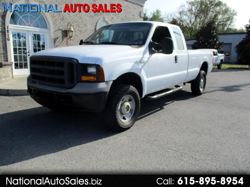 Ford F-250 SD XL SuperCab Long Bed 4WD 2005
