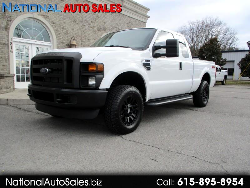 Ford F-250 SD XL SuperCab 4WD 2008