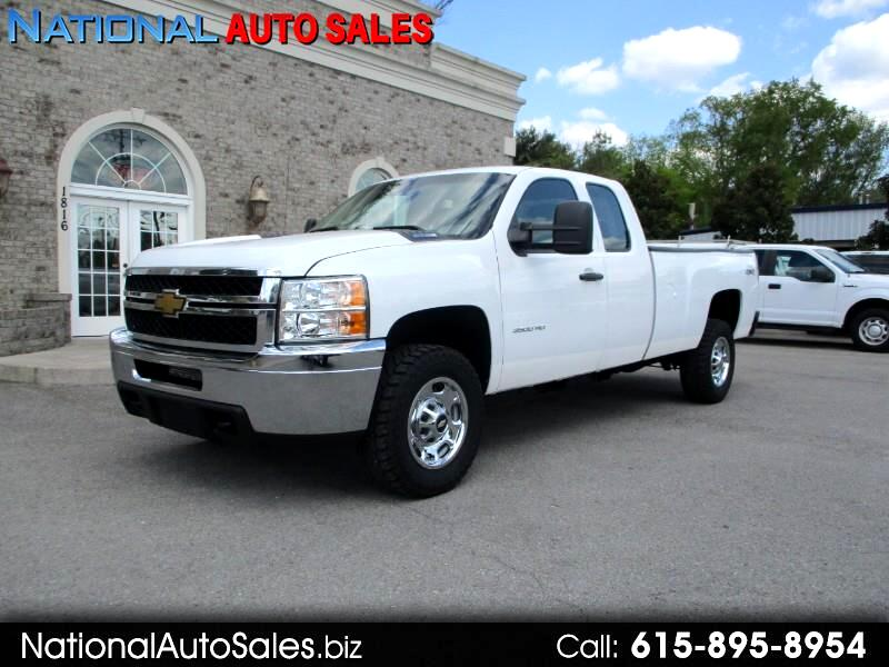 Chevrolet Silverado 3500HD Work Truck Ext. Cab Long Box 4WD 2013
