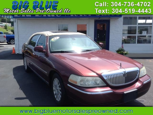 Used 2003 Lincoln Town Car For Sale In Barboursville Wv 25504 Big