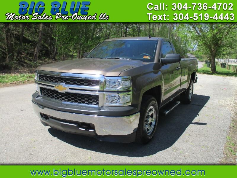 2014 Chevrolet Silverado 1500 LONG BED 4WD LT