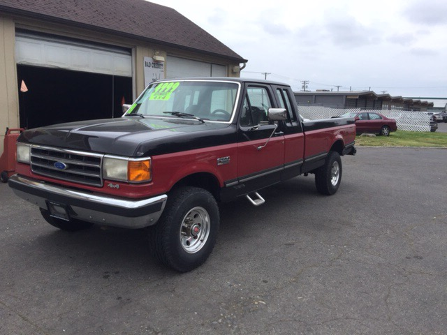1991 Ford F-250 HD SuperCab 4WD