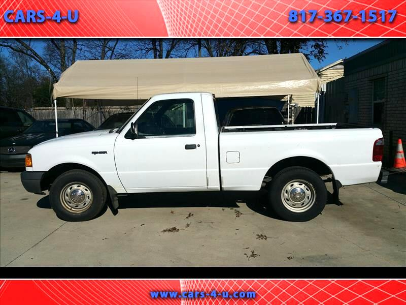 2001 Ford Ranger XLT 2.5 2WD w/Appearance
