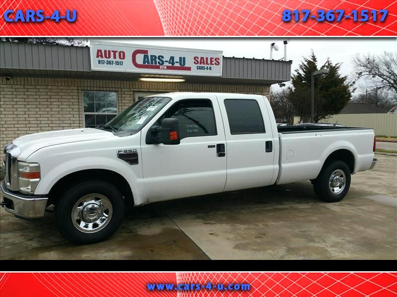 2008 Ford F-250 SD XL Crew Cab 2WD