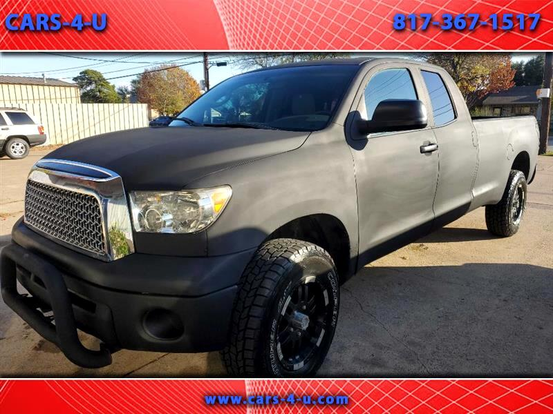 Toyota Tundra SR5 Double Cab 5.7L Long Bed 4WD 2008