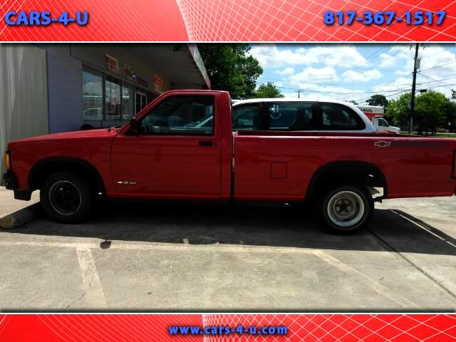 Chevrolet S10 Pickup EL Reg. Cab Short Bed 2WD 1991