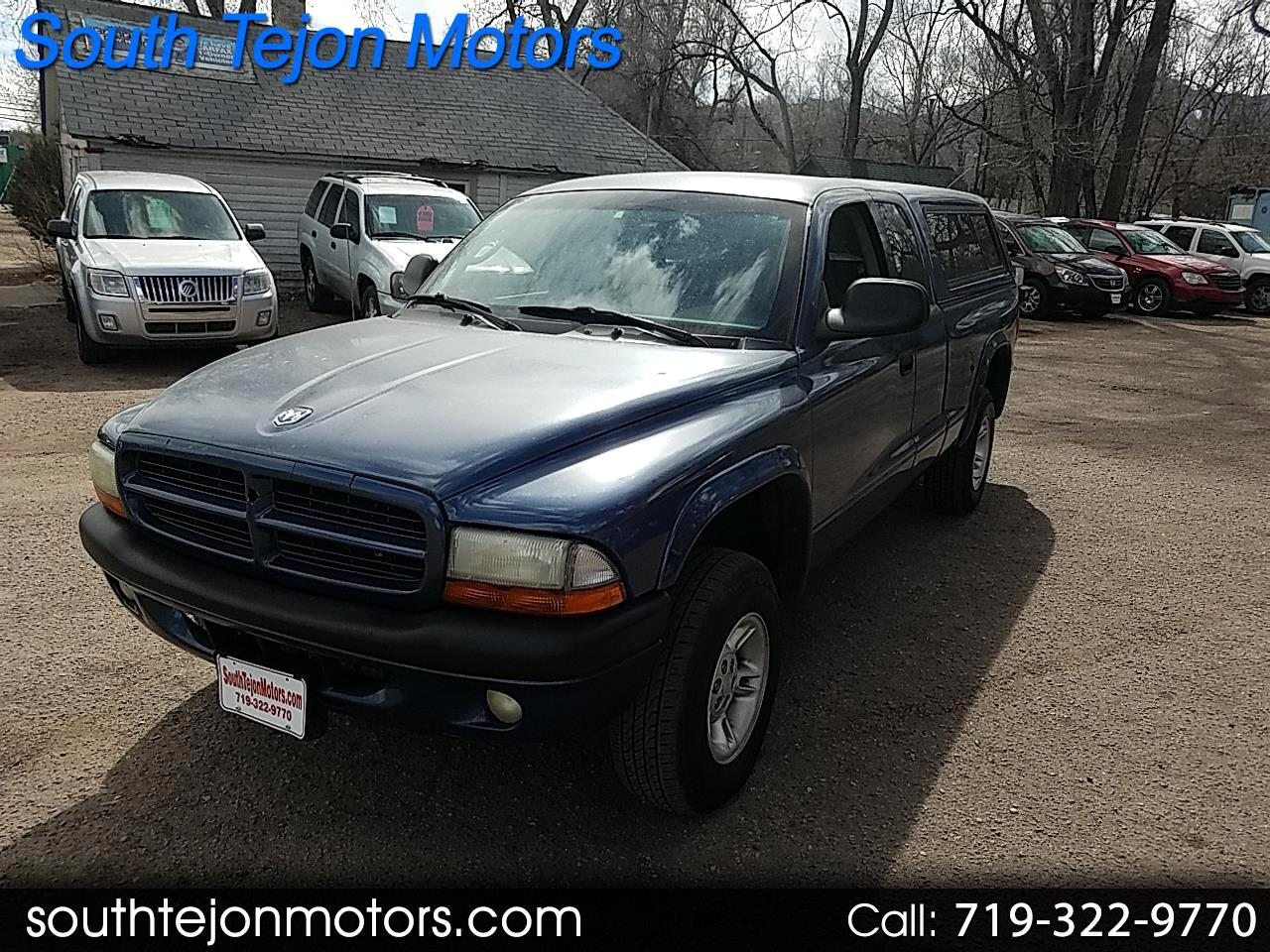 2002 Dodge Dakota Sport Club Cab 4WD