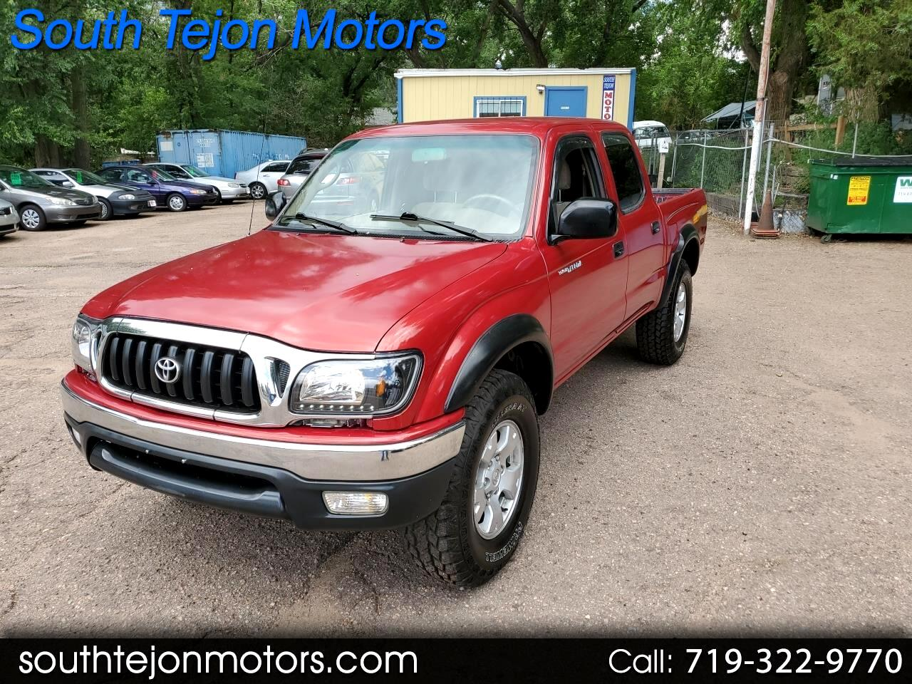 2001 Toyota Tacoma TRD Off Road Double Cab 5' Bed V6 4x4 AT (Natl)
