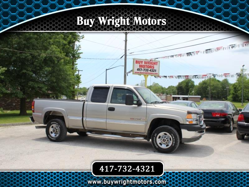 2001 GMC Sierra 2500HD SL Ext. Cab Long Bed 2WD