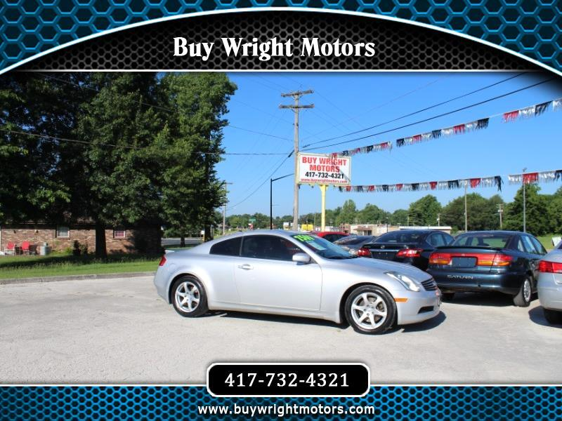 2006 Infiniti G35 Coupe 2dr Cpe Auto w/Leather