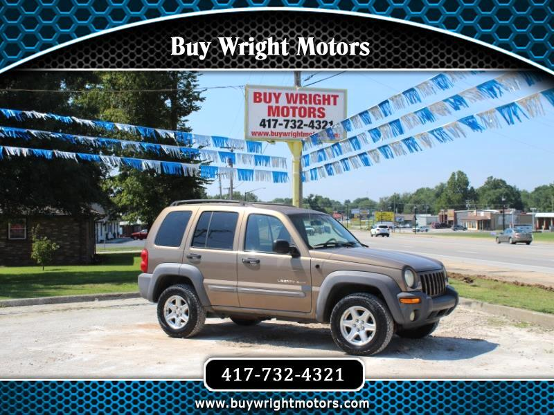 Jeep Liberty Sport 4WD 2002