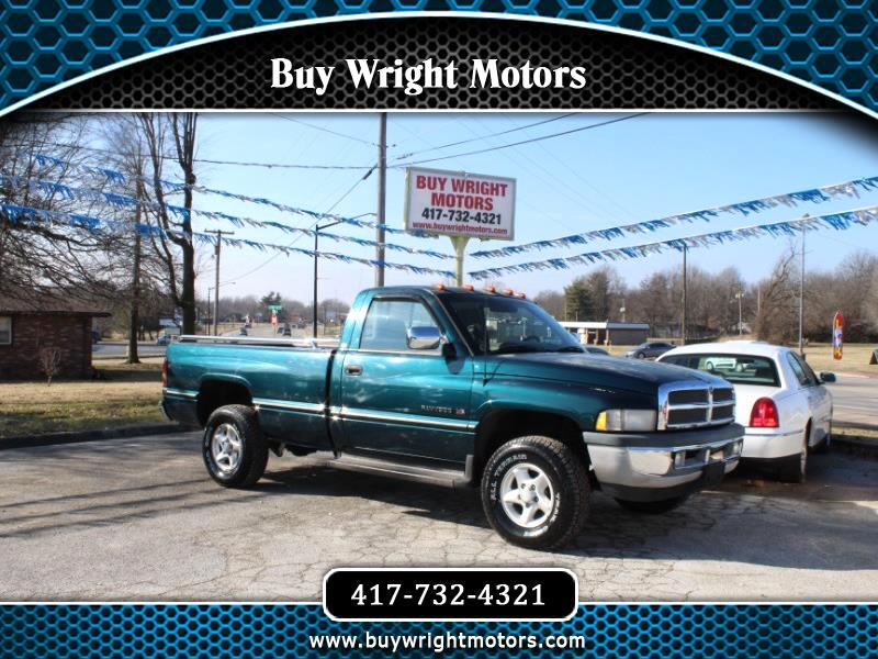 Dodge Ram 1500 Reg. Cab 6.5-ft. Bed 4WD 1996