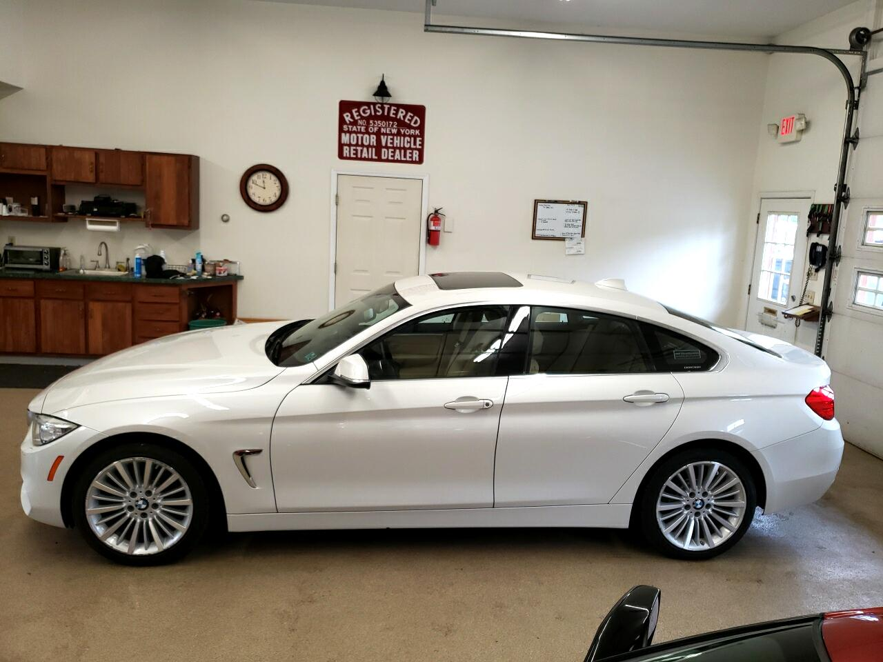 BMW 4 Series 4dr Sdn 428i xDrive AWD Gran Coupe SULEV 2015