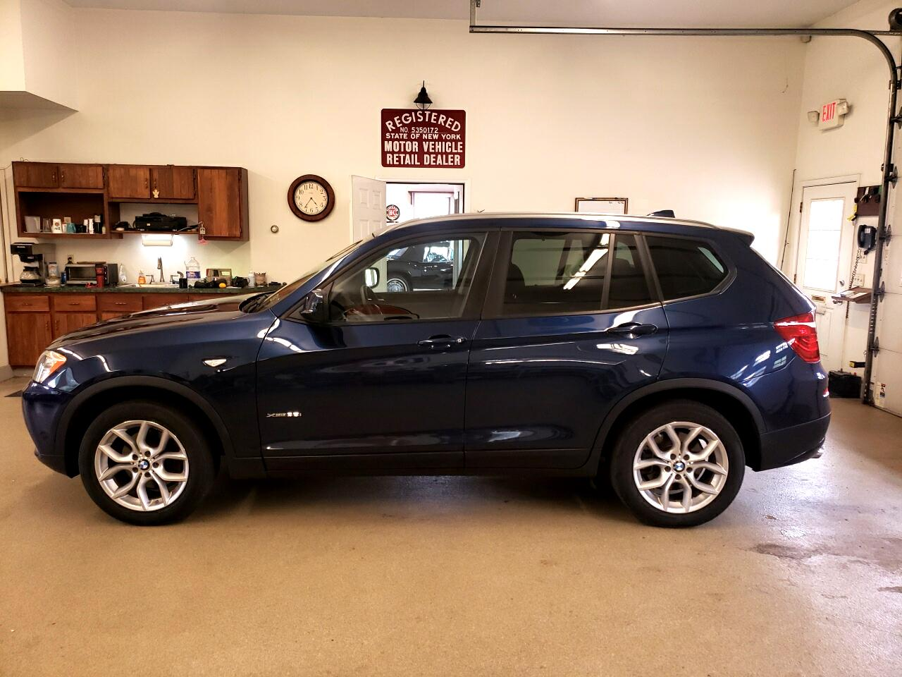 BMW X3 AWD 4dr xDrive35i 2013