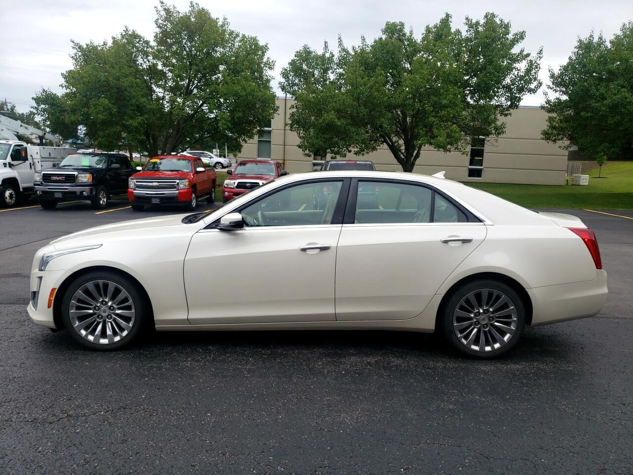 Cadillac CTS Sedan 4dr Sdn 2.0L Turbo Luxury AWD 2014