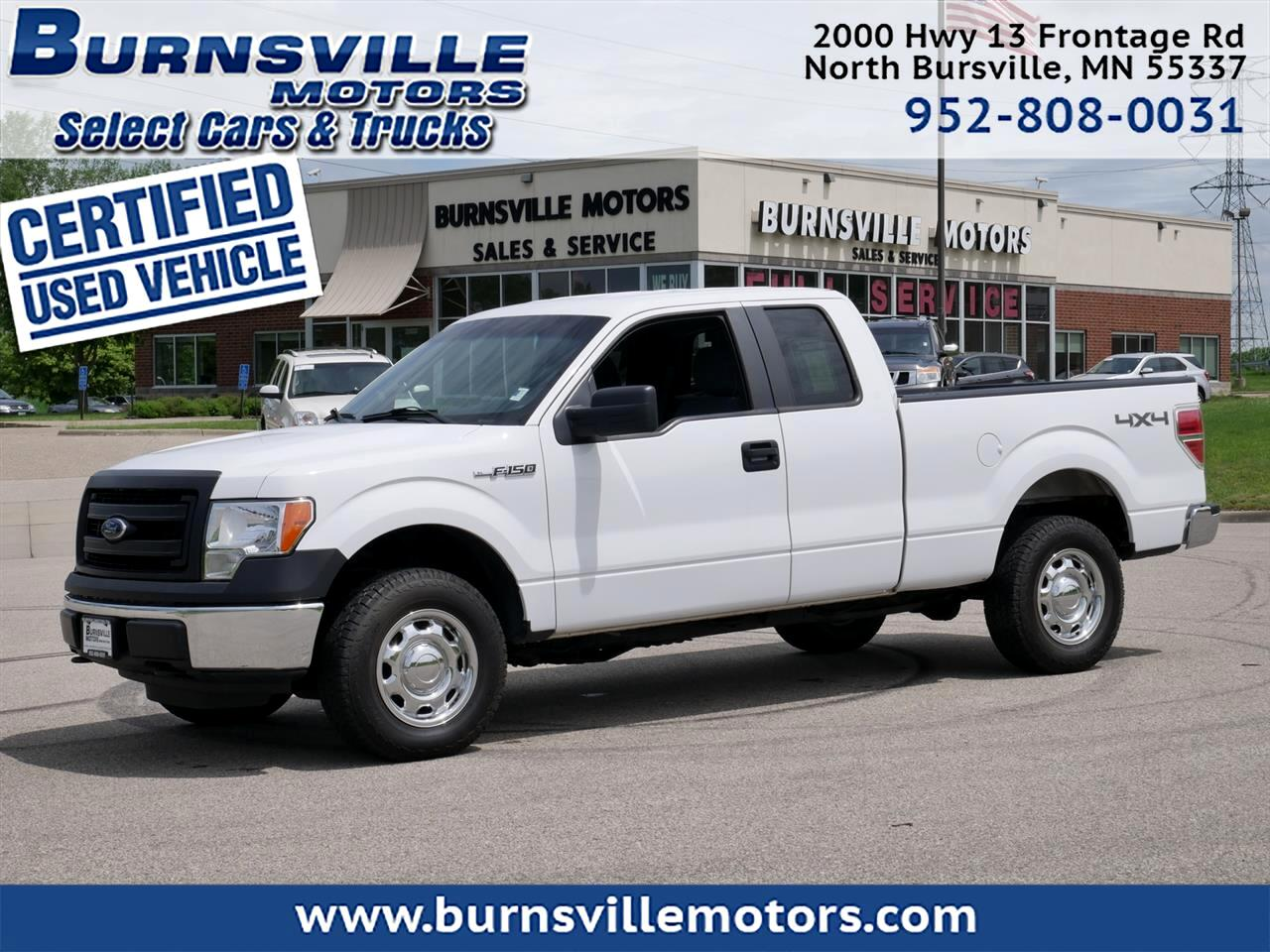 Ford F-150 XL SuperCab 6.5-ft. Bed 4WD 2014