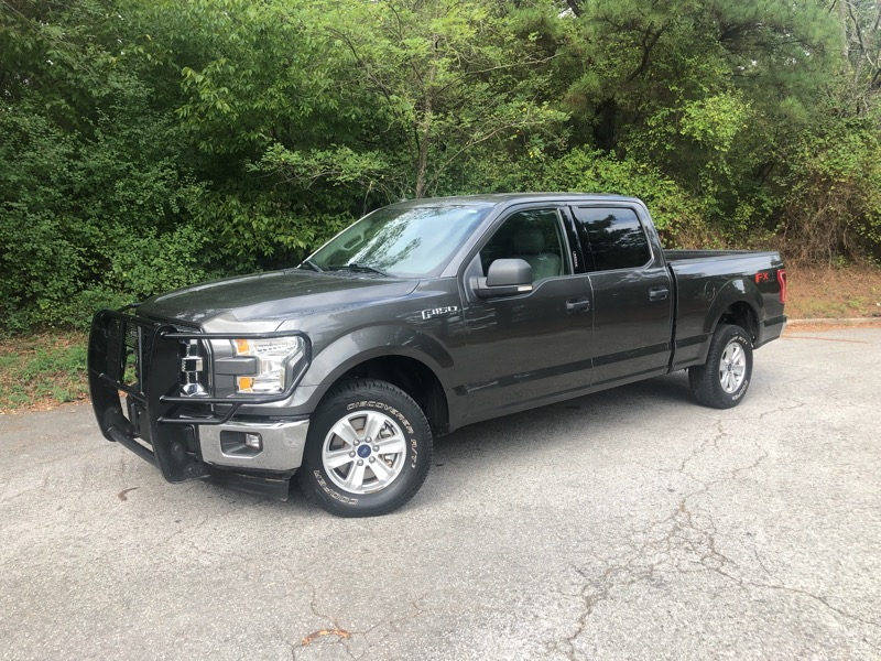 "2017 Ford F-150 4WD SuperCrew 157"" FX4"